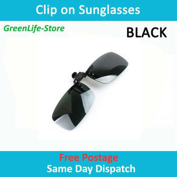 Sunglasses clip plastic clip polarized clip metal rack myopia glasses clip day and night for man&woman Free Shipping