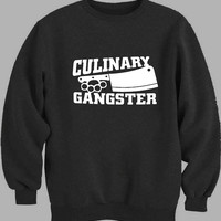 Culinary Gangster Chef prep Cook food Sweater for Mens Sweater and Womens Sweater *
