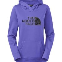 The North Face Leopard Fave Pullover Hoodie for Women in Starry Purple CZX1-BDZ