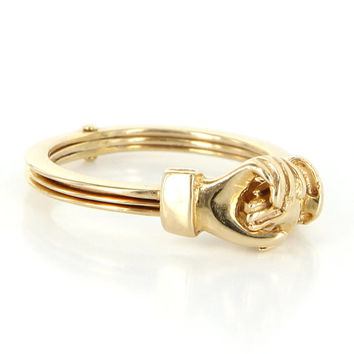 Best Yellow Gold Friendship Rings Products on Wanelo