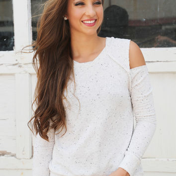 Lightly Speckled Sweater