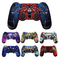Cool Fasshion 1pcs Controller Skin for PS4 Controller Decal Stickers for Playstation4 Controller Free Shipping