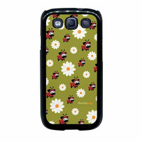 lady pug pattern case for samsung galaxy s3 s4