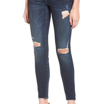 BLANKNYC Ripped Ankle Skinny Jeans (Modern Vice) | Nordstrom
