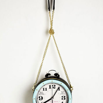 Urban Time is of the Exquisite Bag by Betsey Johnson from ModCloth