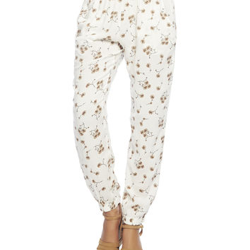 Floral Jogger Pant | Wet Seal