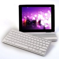 SANOXY® Wireless Bluetooth Keyboard for iPad/iPhone 4.0 OS/Android/Window Mobile/Symbian Smartphone/MAC/PC (white)