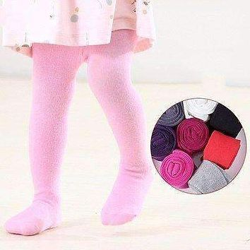 candy color Newborn Baby Girls tights Toddler Kids Little Girl clothing Kintting Stockings Children Pantyhose 18-24Months