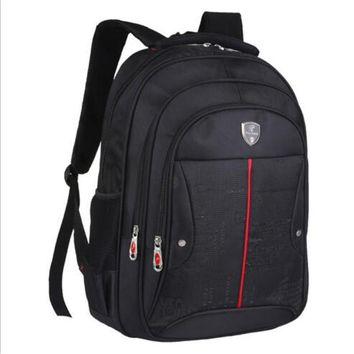 Swiss army knife 15 inch nylon man shoulders backpack laptop bag notebook fashion high-end leisure bag outdoors travel packages