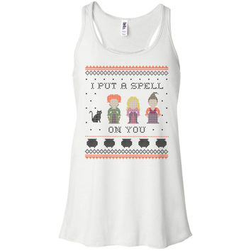 I Put a Spell on You Hocus Pocus Tank Top Racerback