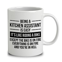 Being A Kitchen Assistant