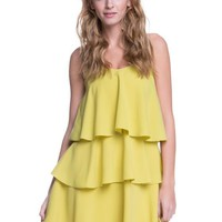 'Carrie' Ruffle Tiered Dress
