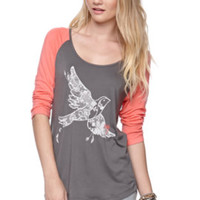 Roxy Dream Bird Raglan Tee at PacSun.com