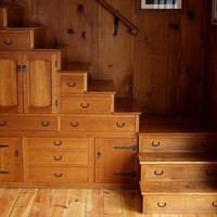 stairs as storage in Dorset