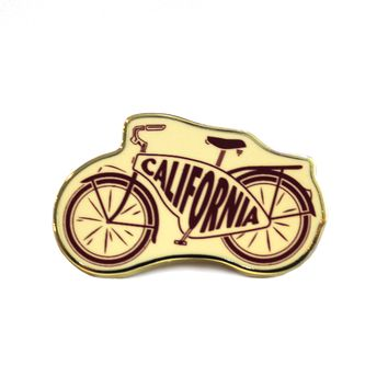 California Cruiser Bike Pin