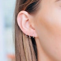 BABY HOOPS | SILVER