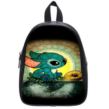 Stitch And Turtle School Backpack Large