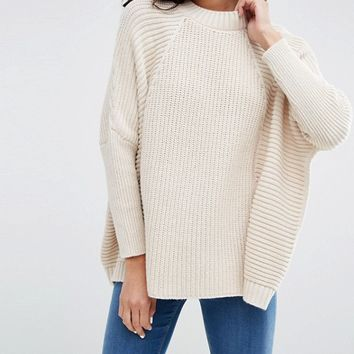 ASOS Cape Sweater at asos.com
