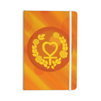 "NL Designs ""Venus"" Orange Yellow Everything Notebook"