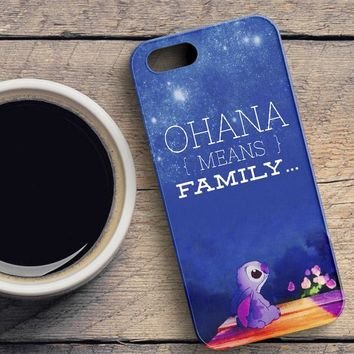 Lilo And Stitch iPhone SE Case