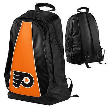 Philadelphia Flyers BackPack Book Gym Diaper Bag NEW NHL TEAM COLORS - Core Plus