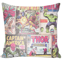 Comic Book Pillow