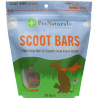 Pet Naturals Scoot Bars for Dogs 30 Bars