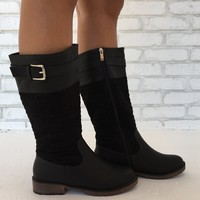 Honor Code Black Boots
