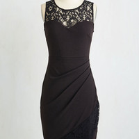 LBD Long Sleeveless Sheath Little Bold Dress