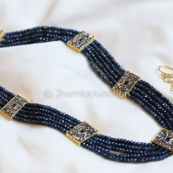 Contemporary Victorian Layered Necklace