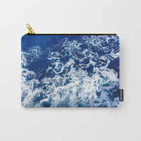 Sea Waves Carry-All Pouch by Jenna C.