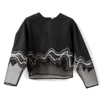 Embroidered Geode Long Sleeve Top by 3.1 Phillip Lim - Moda Operandi