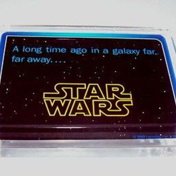 Acrylic Star Wars Executive Desk Top Paperweight