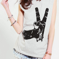 Urban Outfitters - Blackstone Peace Muscle Tee
