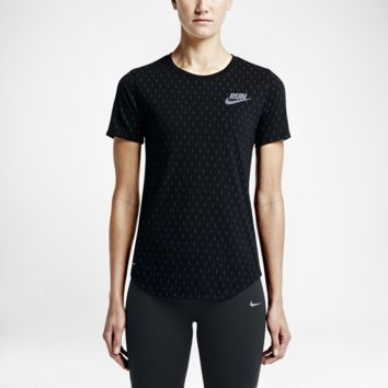 Nike Print Digi Dots Women's Running Shirt