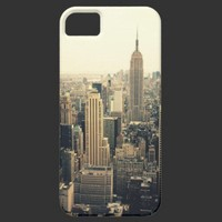 New York City Skyline iPhone 5 Cover from Zazzle.com
