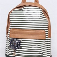 Blue Striples Navy Style Backpack from topsales