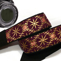 Geometric Camera Strap. Dslr Camera Strap. Ethnic Camera Strap.   Accessories