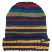 Reversible Navy Knitted Hat