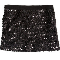 Grosgrain Trimmed Mini Skirt