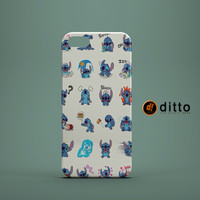 STITCH EMOJIS Design Custom Case by ditto! for iPhone 6 6 Plus iPhone 5 5s 5c iPhone 4 4s Samsung Galaxy s3 s4 s5 s6 s7 and Note 2 3 4