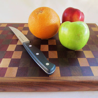 Cutting Board, Medium Cutting Board, Wood Cutting Board, Culinary Board
