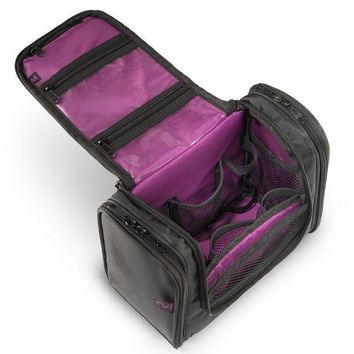 ONETOW Hanging Travel Toiletry Bag - For Women Cosmetic Makeup Organizer And Men Shaving Kits