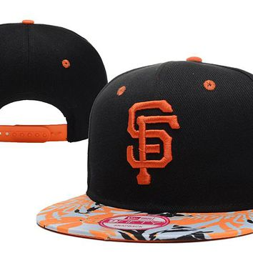 San Francisco Giants New Era 9FIFTY MLB Baseball Cap Black