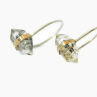 Diamond Stud 14K Gold Earrings