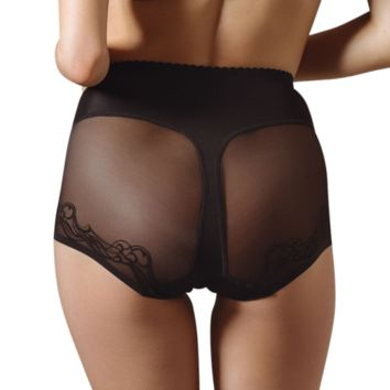 Semi Sheer High Waist Brief Panty Lavinia Mia