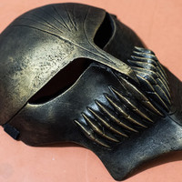 Ichigo Kurosaki Bleach Gold Black Mask Halloween cosplay props costume