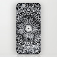 ORGANIC BOHO MANDALA iPhone & iPod Skin by Nika | Society6