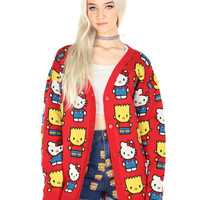 HELLO KITTY & BART CARDIGAN
