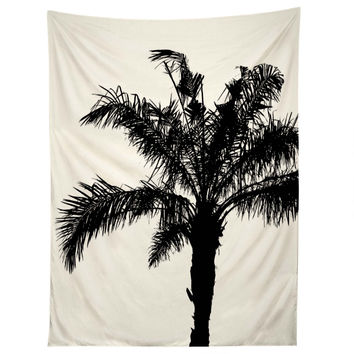 Deb Haugen B And W Square Tapestry